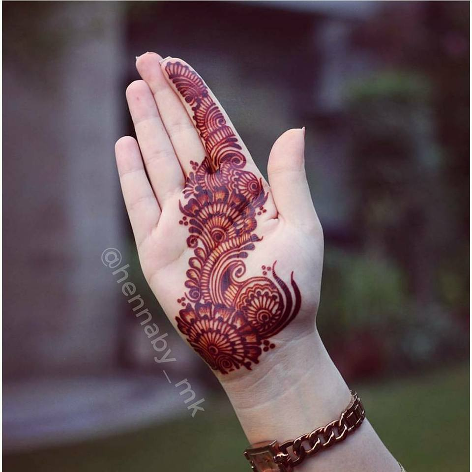 Latest Arabic Mehndi Designs 2019 Easy And New Styles For Hands 1